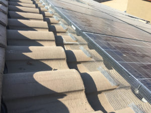 Solar Panel Fencing View 1