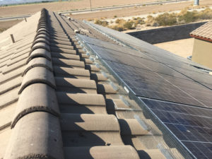 Solar Panel Fencing View 3